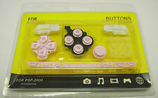 Teclas del teclado button pad set rosa para Sony PSP Slim 2004 & Lite slim Lite