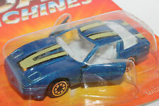 1980's Chevrolet Corvette,  Road Champs Die Cast, 1/64 Scale, New on Card