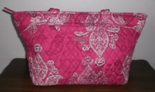 VERA BRADLEY MANDY Shoulder Bag ~ Stamped Paisley Pink & White ~ MSRP $70 ~ BNWT