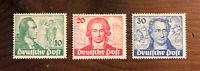Berlin #9N61-9N63 1949 GOETHE SET  OG H Mint CV$161.06 Stamps Germany