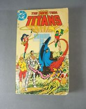 The New Teen Titans First Edition Paperback Comic Book -Vintage 1982