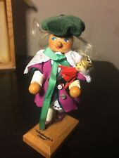Germany Tchaikovsky's Clara With Doll Mini Nutcracker Figurine By Steinbach