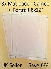 A4-20.3x30.5cmSilhouette Cameo Porträt schneidend mat x3 Pack! economy Träger