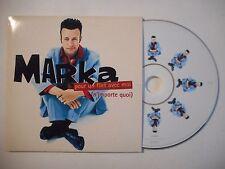 MARKA : POUR UN FLIRT AVEC MOI ( N'IMPORTE QUOI ) ♦ CD SINGLE PORT GRATUIT ♦
