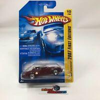 #5408  Buick Grand National #10 * BURGUNDY * 2007 Hot Wheels * WF15