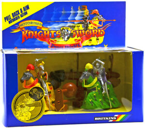 Britains Deetail # 7769 - Power Knight Siege Set - mint-in-box colors vary