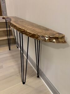 Console Accent table modern Wild Edges