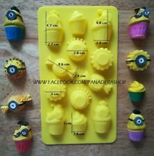 Minion Inspired Sweets Chocolate Fondant Clay Jelly Soap Silicone Mold Molder