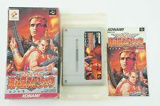 Contra Spirits SNES KONAMI Nintendo Super Famicom Box From Japan