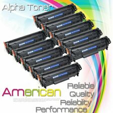10PACK Q2612A 12A High Yield Toner for HP LaserJet 1012 1010 1018 1020 3030 3020