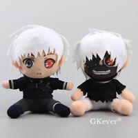 JP Anime Tokyo Ghoul Kaneki Ken Plush Toy Stuffed Doll 7'' Figures Cute
