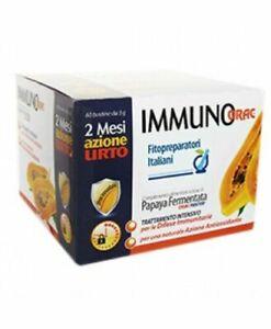 Immunorac Papaya Fermentata - 60 buste - 2 mesi di trattamento SPEDIZIONE SDA