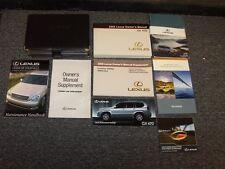 2005 Lexus GX470 SUV Owner Owner's Operator User Guide Manual Set 4.7L V8