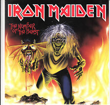 """IRON MAIDEN THE NUMBER OF THE BEAST  7"""" 2014  MINT"""