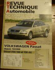 VOLKSWAGEN PASSAT DIESEL TDI 100 et 130 ch Revue technique RTA 665 2003