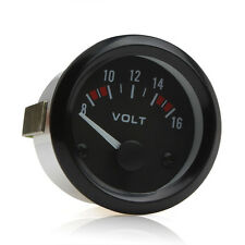 2Inch 52mm Voltmeter Gauge Meter 8-16V Racing Car Volt Gauge Volts Gauge Meter