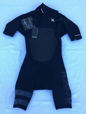 Hurley Fusion 202 Wetsuit Spring Suit Black Men's Size Small