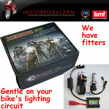 Motocicleta Moto Bicicleta Hid H4 Bi Xenon Kit De Luz 6000k Blanco O 8000k Azul