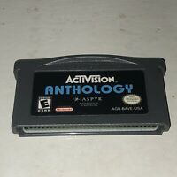 Nintendo Game Boy Gameboy Advance ACTIVISION ANTHOLOGY GBA Tested - AUTHENTIC