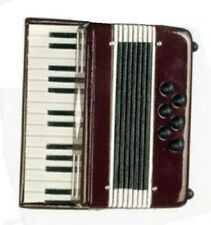 "Lovvbugg Mini Accordion for 18"" American Girl Doll Musical Instrument Accessory"
