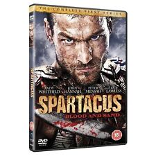 SPARTACUS BLOOD AND SAND COMPLETE SERIES 1 DVD First Season UK Release New R2