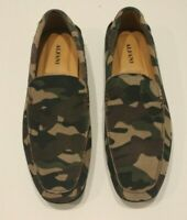 Alfani Men's Bromley Camo Suede Slip-On Driver Shoes Moccasins New in Box