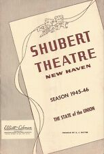 """Lindsay & Crouse """"STATE OF THE UNION"""" Judyth Evelyn / James Rennie 1946 Playbill"""