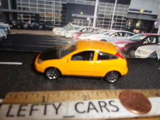 MATCHBOX Mustard FORD FOCUS 2DOOR Car w/Black Hood - SCALE 1/57 -1999