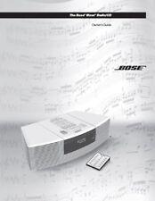 BOSE RADIO/CD USER MANUAL PHOTOCOPY EARLY MODELS