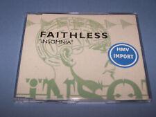 FAITHLESS - Insomnia - (1996) - 5 Track CD Single - Original Release