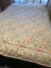 Full/Double Size Laura Ashley Pastel Floral Print Comforter