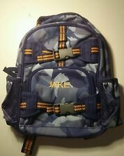 Pottery Barn Kids Mackenzie Blue Shark Camo Mini Preschool Backpack JAKE