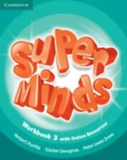 SUPER MINDS LEVEL 3 WORKBOOK WITH ONLINE RESOURCES by PuchtaHerbert (2014,...