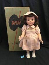 1950's WANDA THE WALKING DOLL ORIGINAL in BOX TESTED WORKS