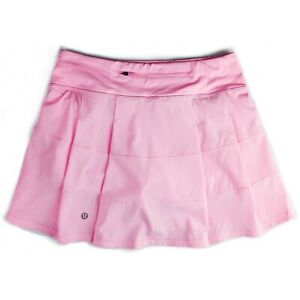 Lululemon Pace Rival Skirt Tall Length 15 inches Miami Pink Size 4 6