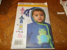 Simplicity Pattern 1546 Baby Knit Pants, Jacket, Hat & Sack in One Size  XXS- L