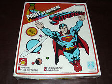Vintage Superman Hasbro Paint By Number DC Comic JLA Rare Superfriends MIMB 1977