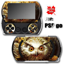 Owl Bird SKIN VINYL STICKER DECAL COVER for SONY PSP Go