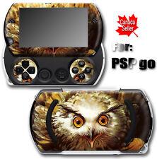 Owl Bird SKIN VINYL STICKER DECAL COVER for SONY PSP Go