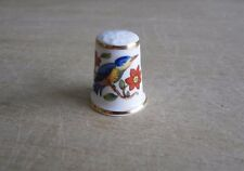 AYNSLEY BONE CHINA THIMBLE -  PEMBROKE BIRD - PERFECT CONDITION