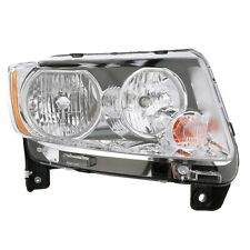 New For 2011-13 Jeep Compass Passenger Side Headlight W/O Black Bezel CH2519139