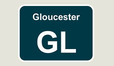 1x Gloucester Train Depot Sticker/Decal 100 x 77mm