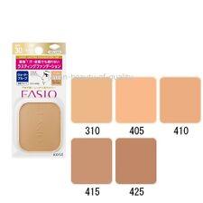 """F/S KOSE ☀FASIO☀ Lasting Powder Foundation WP """"Refill"""" SPF30 PA+++ - Color 410"""