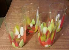 4  studio art glass glasses