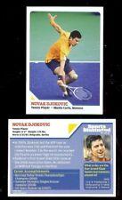 12) NOVAK DJOKOVIC - Wimbledon 2010 SI Sports Illustrated For Kids Tennis RC LOT