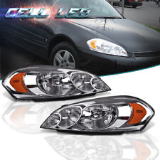 For 2009 Chevy Impala 06 07 Monte Carlo Left Amp Right Headlights Assembly Pair Fits 2006 Impala