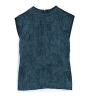 New Mark by Avon Teal Appeal Women's Sleeveless Top Shirt Blouse Size: Large L