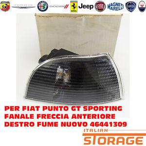 PER FIAT PUNTO GT SPORTING FANALE FRECCIA ANTERIORE DESTRO FUME NUOVO 46441309