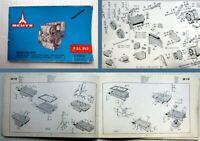 Deutz F3L 912 Ersatzteilliste Parts Catalogue 1968 Bildkatalog