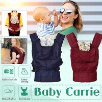 Newborn Baby Carrier Breathable Ergonomic Adjustable Wrap Sling Backpack US  -